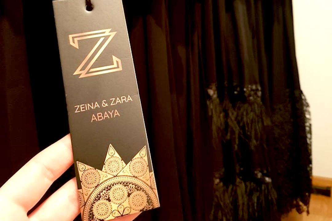 Zeina & Zara Abaya crne haljine